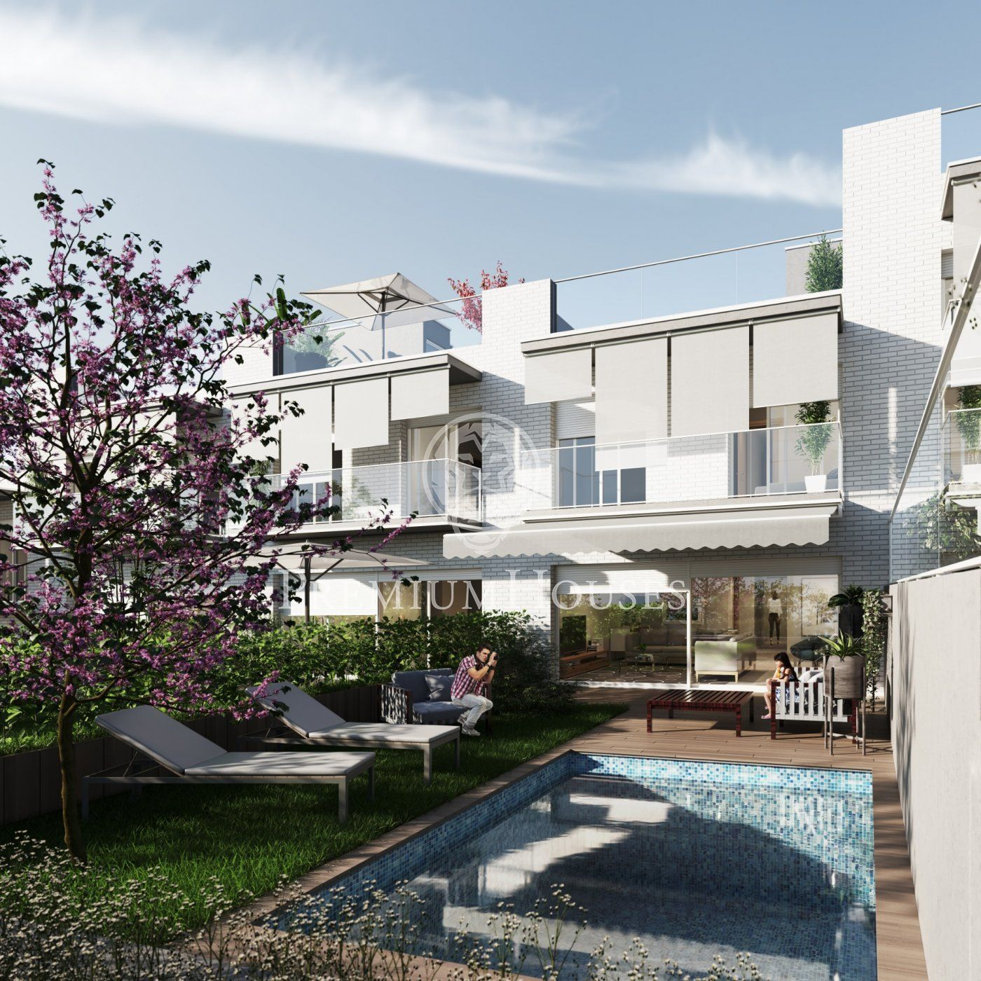 NEW BUILDING! A new project of detached houses for sale in Sitges