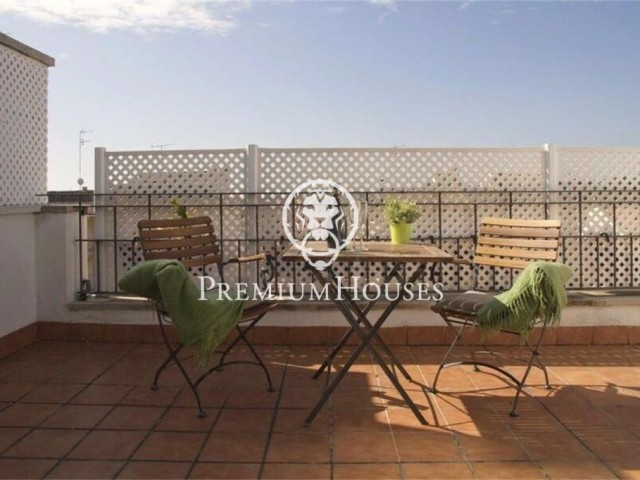 Beautiful duplex penthouse in Sitges