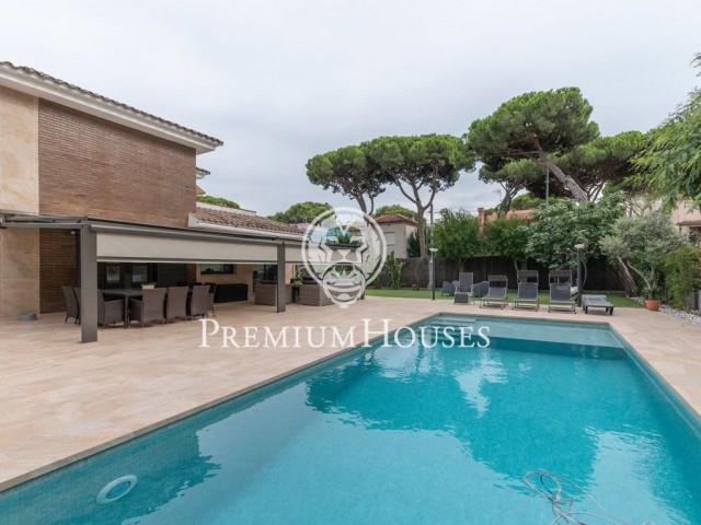 Magnificent house for sale in La Pineda (Castelldefels)